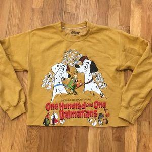 101 Dalmatian Cropped Sweatshirt